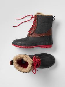 8. Gap Duck Boots